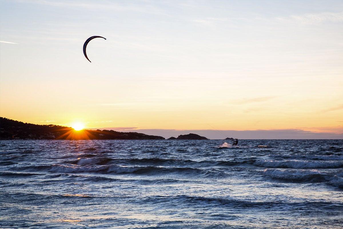 L'Almanarre : un spot de kitesurf exceptionnel
