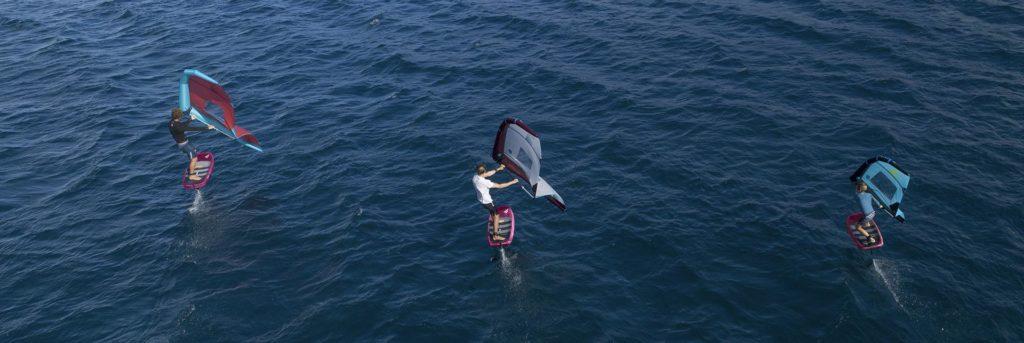 Cours de Wing Surf Hyères Var (83)