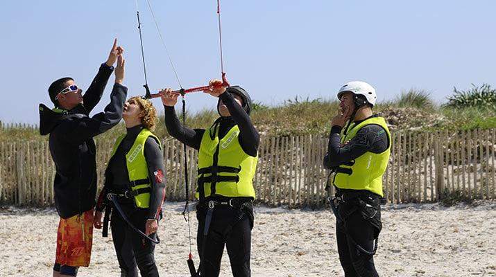 Initiation au Kitesurf de la plage