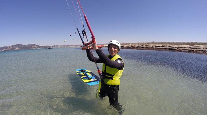 Stage week-end kitesurf pour débutants