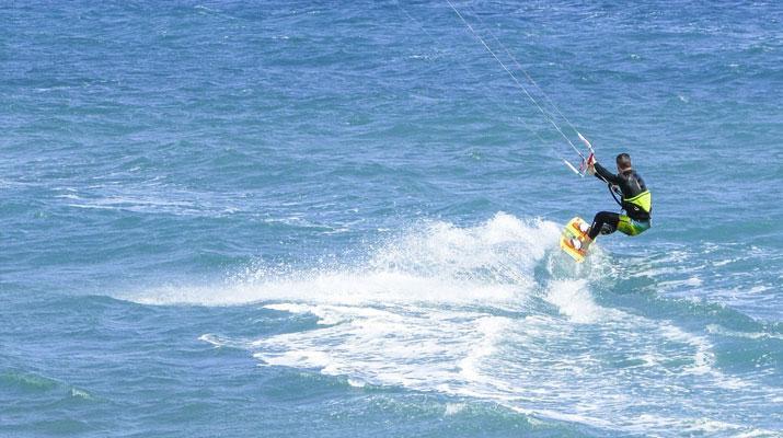 Séances Kitesurf en pleine eau