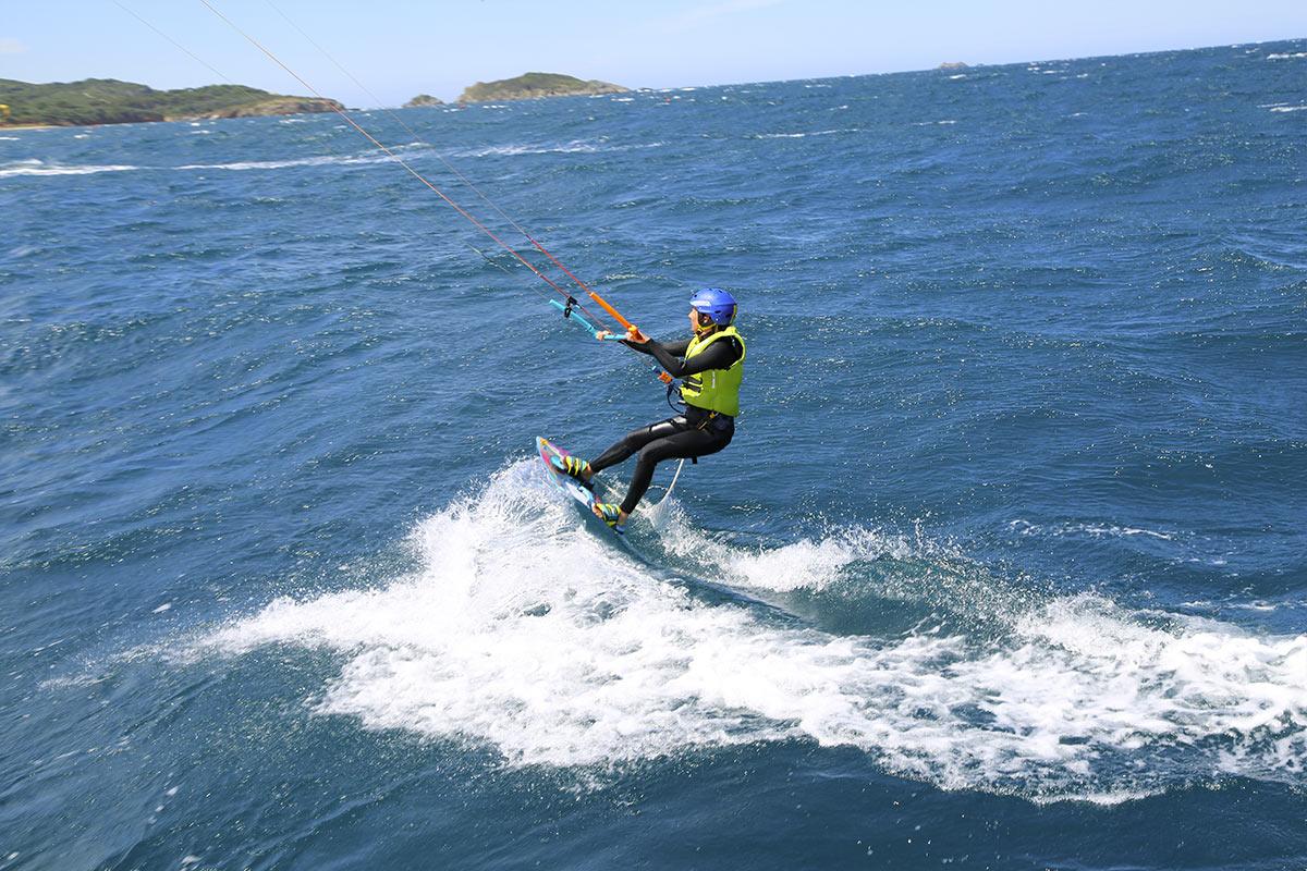 Maîtriser sa vitesse en kitesurf